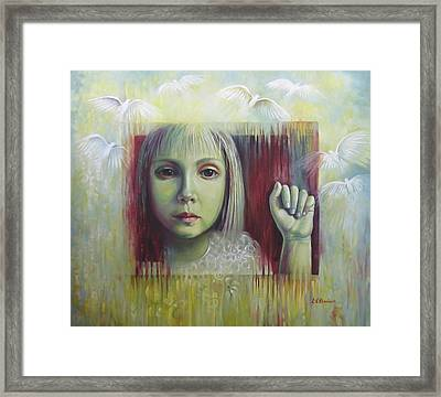 If You Have A Dream... Framed Print by Elena Oleniuc