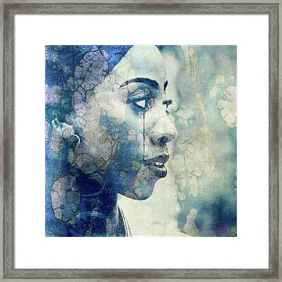 Framed Print featuring the digital art If You Leave Me Now  by Paul Lovering