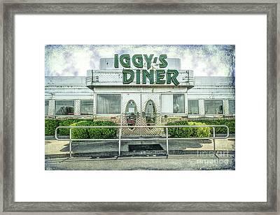 Iggy's Diner Framed Print by Lynn Sprowl