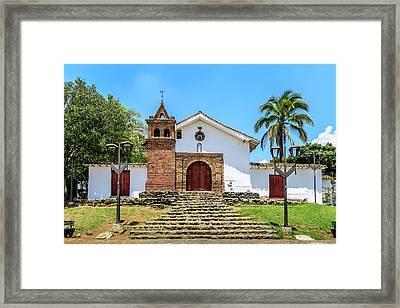 Iglesia De San Antonio Framed Print