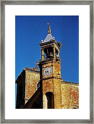Iglesia De San Martin - Trujillo Framed Print by Juergen Weiss