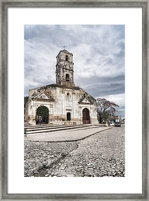Iglesia De Santa Ana Framed Print