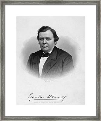 Ignatius Donnelly Framed Print by Granger