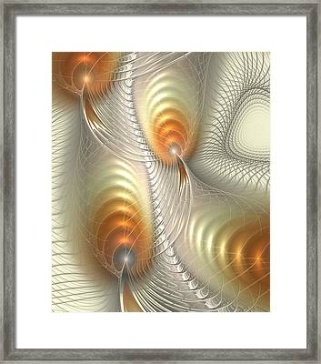 Ignis Fatuus Framed Print by Anastasiya Malakhova