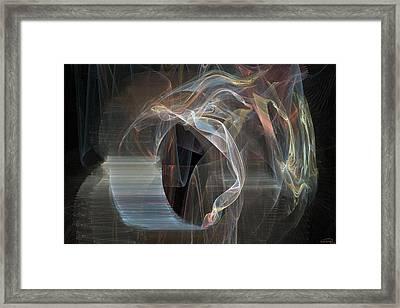 Ignis Fatuus Framed Print by Emma Alvarez