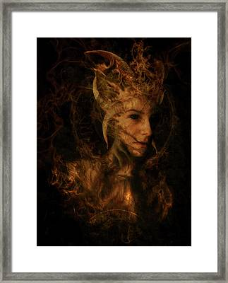 Ignis Luciferi Framed Print by Cambion Art