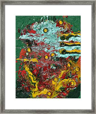 Igniting A Fire Framed Print
