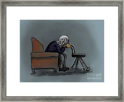 Ignored Framed Print by Dawn Senior-Trask