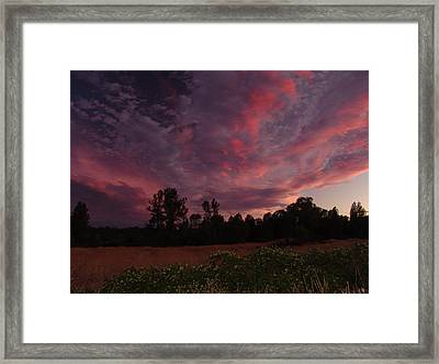 Igo Sunset Framed Print
