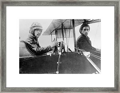 Igor Sikorsky, Aircraft Designer Framed Print by Ria Novosti