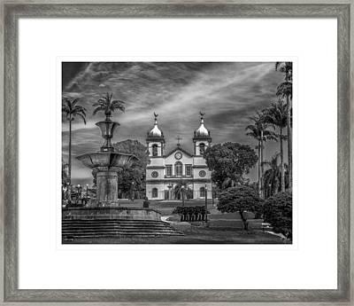 Igreja Da Matriz- Vassouras-rj Framed Print