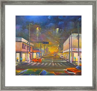 Iguaba Grande Framed Print by Leomariano artist BRASIL
