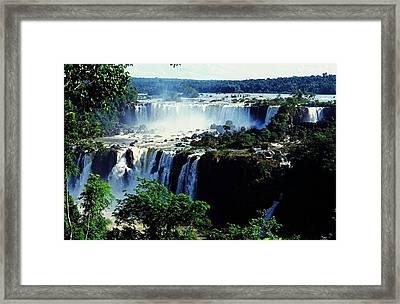 Iguacu Waterfalls Framed Print