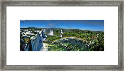 Iguazu Panorama Framed Print