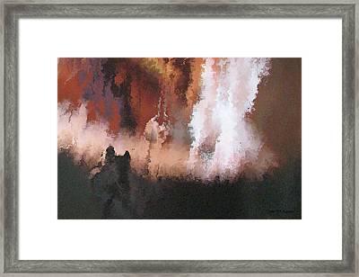 II - Halfling Framed Print