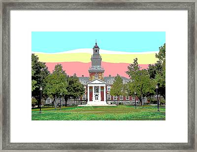 IIsenhower Library, The Hut Framed Print