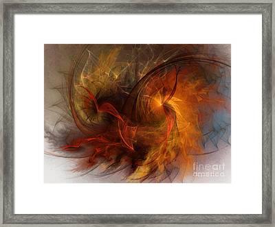 Ikarus Framed Print