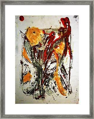 Ikebana Framed Print by Hugo Razlerfight