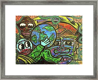 Ikembe's Dream Framed Print