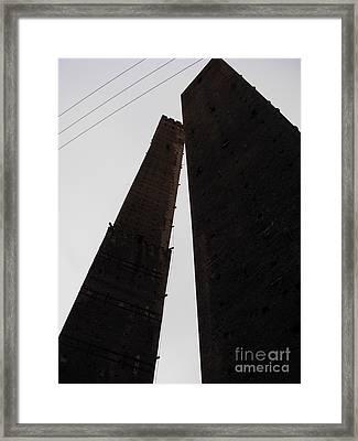Il Bacio Delle Torri Framed Print