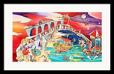Vino Rosso Framed Prints