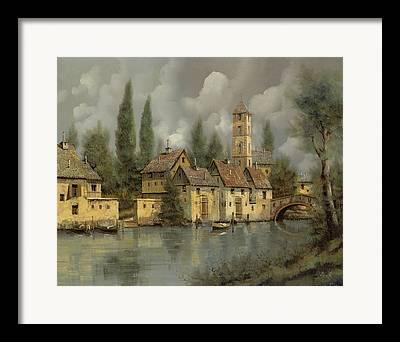 Riverscape Framed Prints