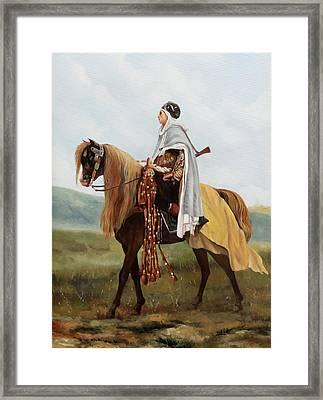 Il Cavaliere Giallo Framed Print