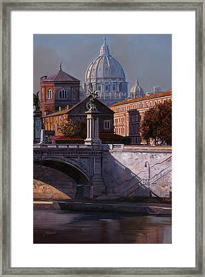 Il Cupolone Framed Print by Guido Borelli