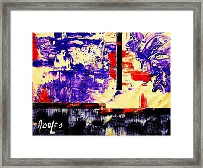 Il Diavolo Framed Print by Adolfo hector Penas alvarado