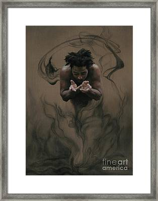 Il Dono The Gift Framed Print by Kelly Borsheim
