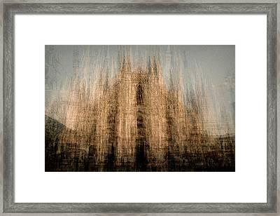 Il Duomo Di Milano Framed Print by Denis Bouchard