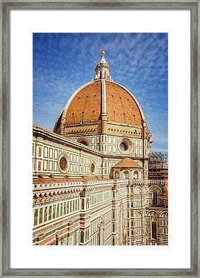 Il Duomo Florence Italy Framed Print