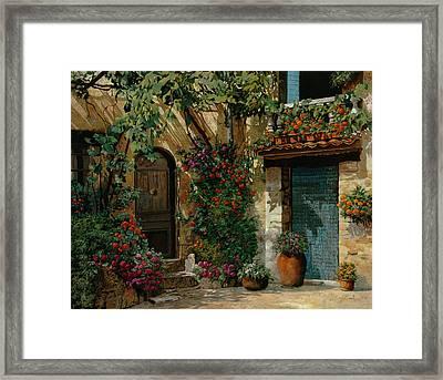 Il Giardino Francese Framed Print by Guido Borelli