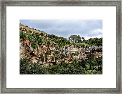 Il Maqluba, Qrendi On A Cloudy Day Framed Print by Stephan Grixti