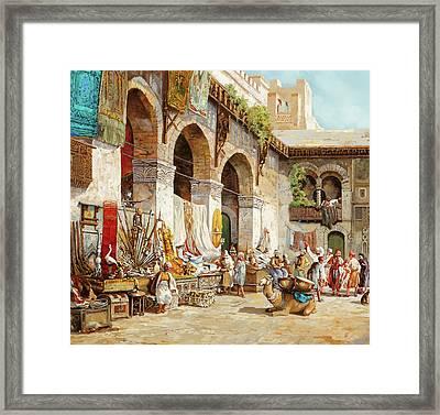 Il Mercato Arabo Framed Print