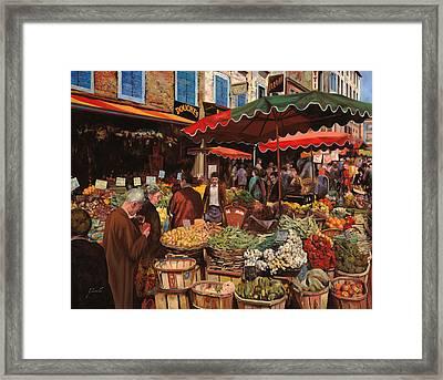 Il Mercato Di Quartiere Framed Print