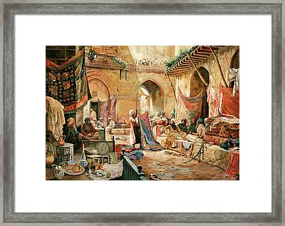 Il Mercato Framed Print