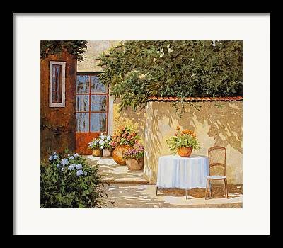 Wall Table Framed Prints