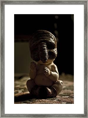 Il Piccolo Budda Framed Print by Francesca Dalla benetta