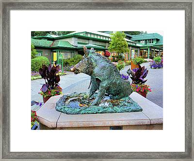 Il Porcellino  Framed Print by Lawrence Christopher