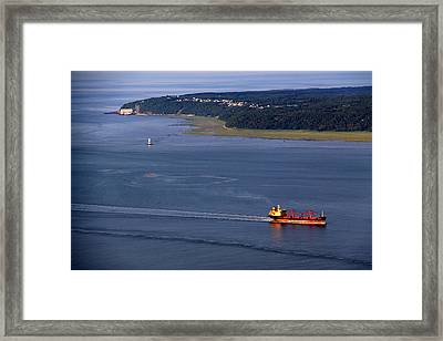 Ile-aux-coudres Framed Print by Michel Thibault