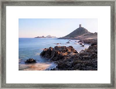 iles sanguinaires  - Corsica Framed Print