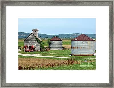 Ilini Farm Framed Print by Marty Koch