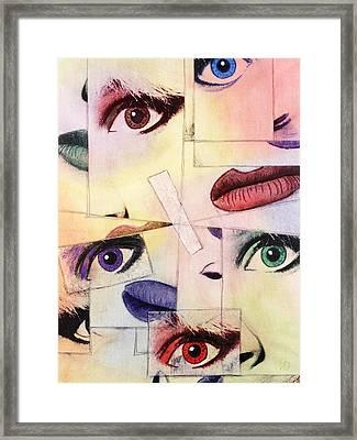 Ill-adjusted Framed Print by Arnuda