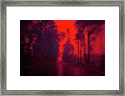 I'll Be Home 4 Xmas Framed Print by Daniel Furon