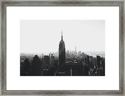 I'll Take Manhattan  Framed Print by J Montrice