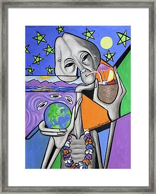 Illegal Alien Anthony Falbo Framed Print