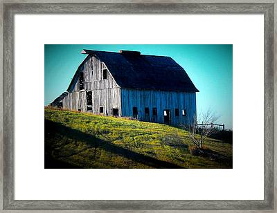 Illinois Heritage Framed Print by Laura Birr Brown