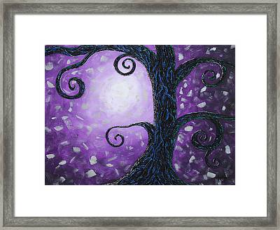 Illuminated Framed Print by Amy Parker