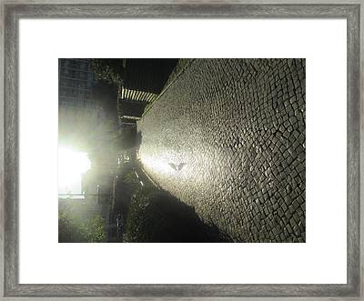 Illuminated Inverted Path Framed Print
